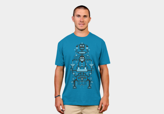 Mechanical Totem T-Shirt - Design By Humans