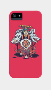 The Wolf Princess Phone Cases