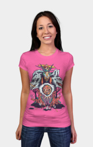 The Wolf Princess T-Shirt