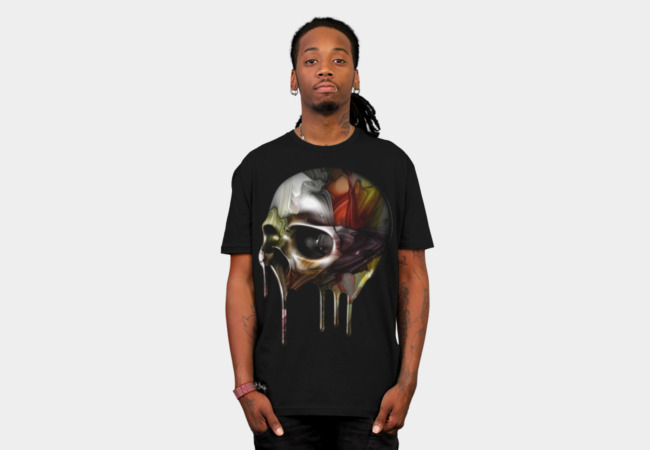 Syrupy Skull T-Shirt - Design By Humans