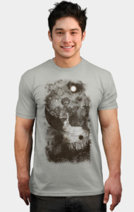 Sad And Lonely Night T-Shirt