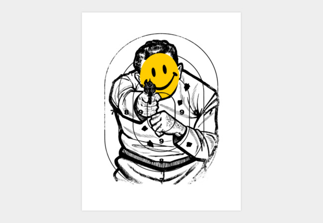 Smile! Art Print - Design By Humans