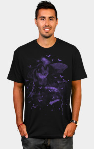 Bat Out of Hell Purple T-Shirt