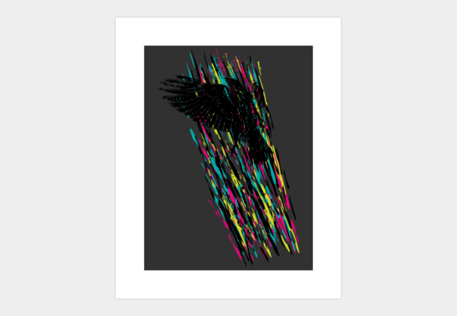 Light Flight Art Print - Design By Humans