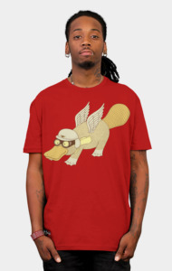 Platasus the Aviator T-Shirt