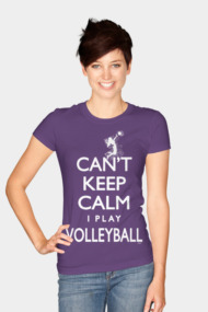 Can't Keep Calm Women's Volleyball