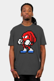 Sonic the Hedgehog 8-Bit Pixel Red Edition