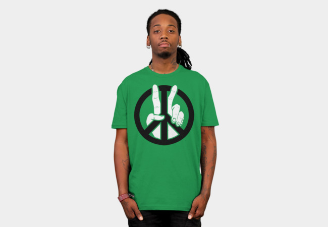 Peace to the 2nd Power T-Shirt - Design By Humans