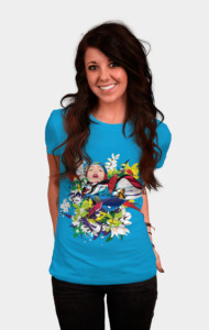 Blossom woman T-Shirt