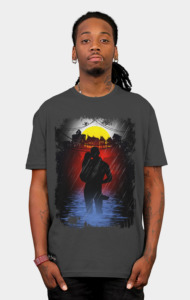 Heroes Don't Always Wear Capes by JoeConde T-Shirt