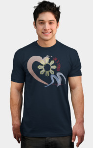 Love Is Stronger by andysimny T-Shirt
