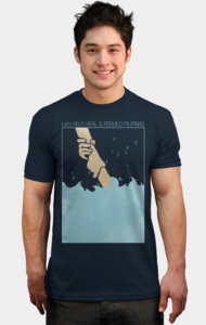 Helping Hand by mitch_dosdos T-Shirt
