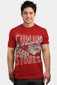 Curling Takes Stones Red