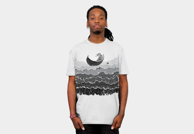 Death At Sea T-Shirt - Design By Humans