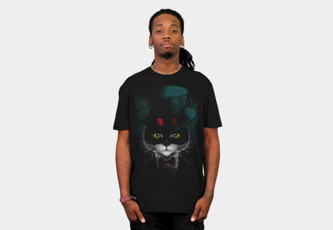 Tuxedo Cat T-Shirt - Design By Humans
