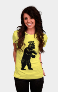 DJ Grizzly Bear King T-Shirt