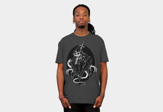 Death Rides A Pale Snake T-Shirt - Design By Humans