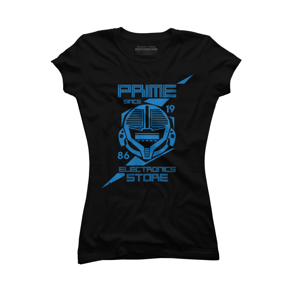 Prime Electronics Store Women's T-Shirt Prime Electronics Store is a cozy ring spun cotton Black shirt designed by JRBERGER. This Women's shirt design is featured in games designs. Shop DesignByHumans.com for the best selection of cool graphic tees, tank tops, sweatshirts, notebooks, phone cases, and art prints.