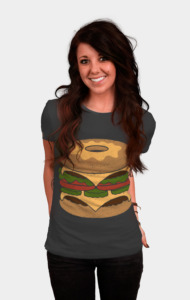 Donut Burger T-Shirt