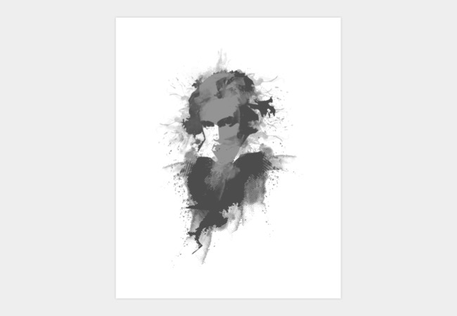 Beethoven Art Print - Design By Humans