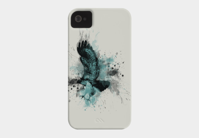 Hawk Dive Phone Case - Design By Humans