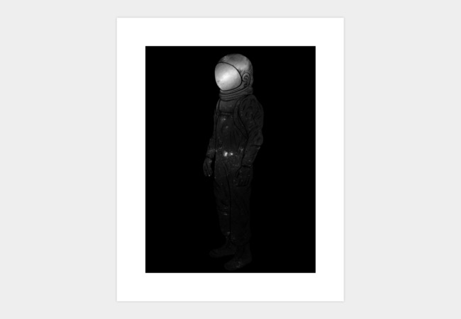 It's Lonely Out In Space Art Print - Design By Humans