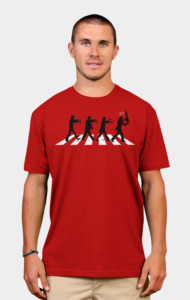 Zombies on Abbey Road T-Shirt