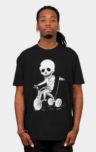 Death Kid Bone Ride T-Shirt