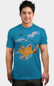 Flying Squirrel Suit T-Shirt