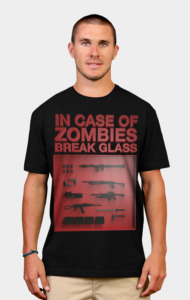 In Case of Zombies.. T-Shirt