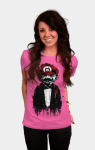 Super Mario Father T-Shirt