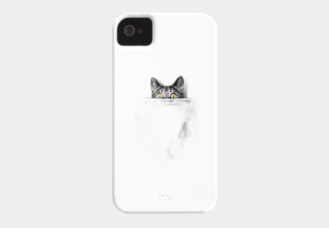 I've got a cat in my pocket Phone Case - Design By Humans