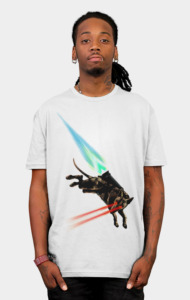Anubis the rocket dog T-Shirt