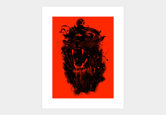 The King Art Print - Design By Humans
