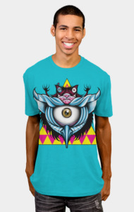 Inter-Dimensional Cyclops Owl T-Shirt