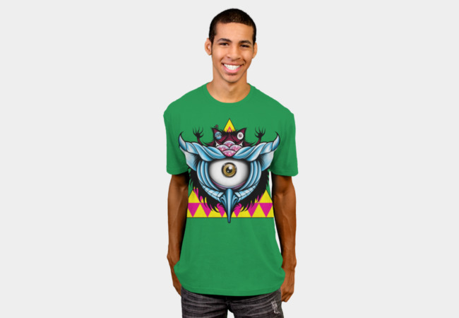 Inter-Dimensional Cyclops Owl T-Shirt - Design By Humans