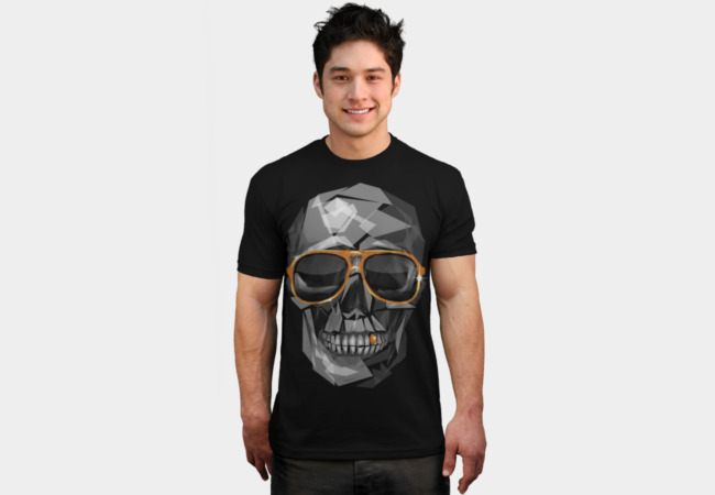 Pimpin' Skull T-Shirt - Design By Humans