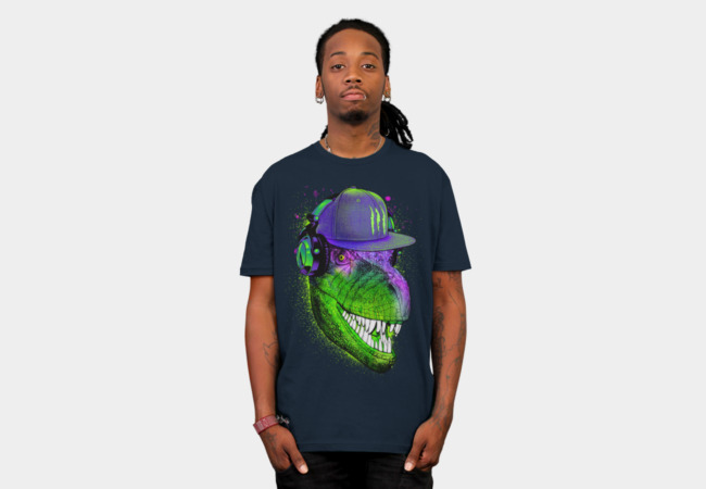 Jurassic DJ T-Shirt - Design By Humans