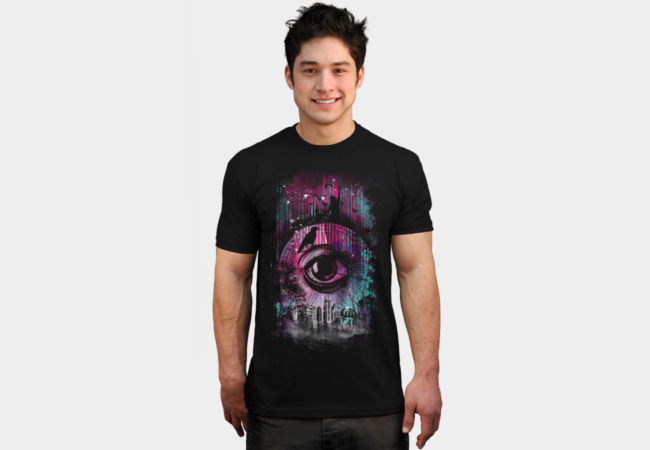 The eye of time T-Shirt - Design By Humans