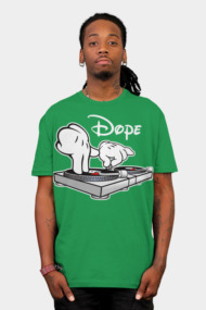 Dope DJ Cartoon Hands