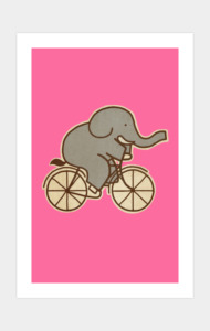 Elephant Cycle T-Shirt