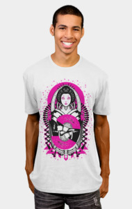 Geisha Android T-Shirt