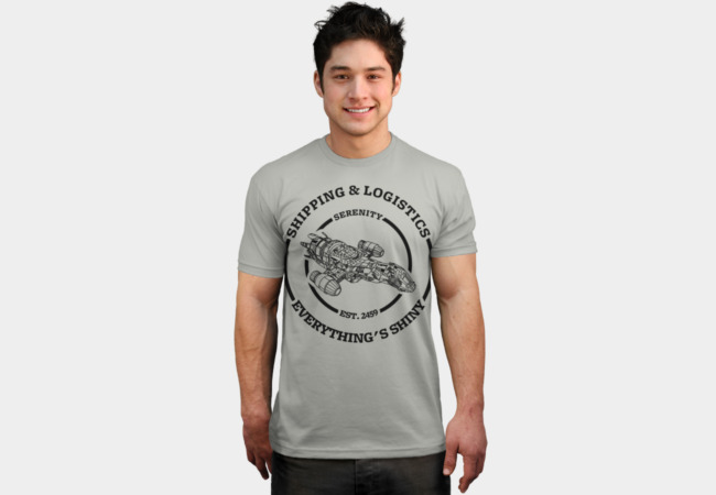 Shipping & Logistics T-Shirt - Design By Humans