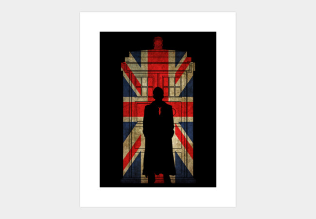 10th UK flag Art Print - Design By Humans