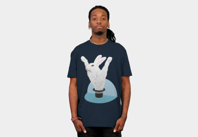 Ta-DAAA!!! Pulling the rabbit from a hat T-Shirt - Design By Humans