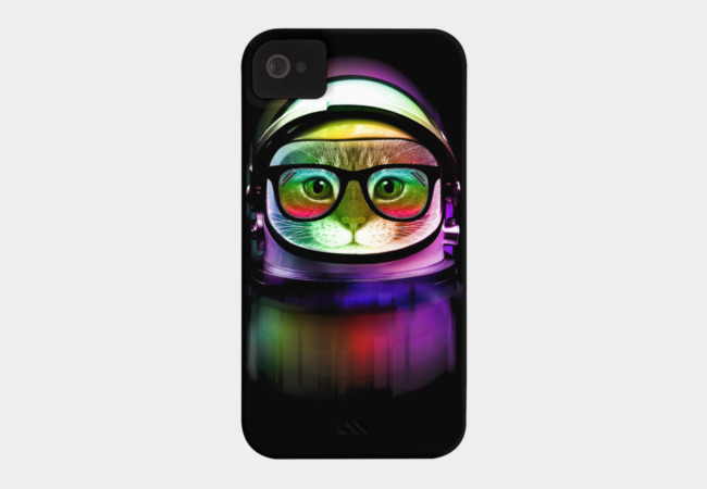 First Cat in Space Phone Case - Design By Humans