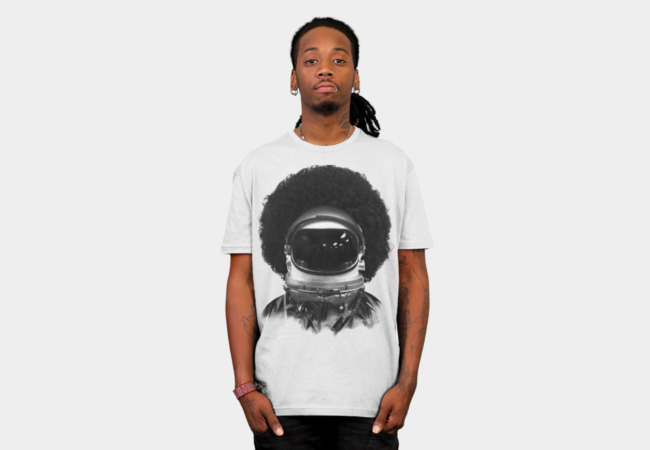 Afronaut T-Shirt - Design By Humans