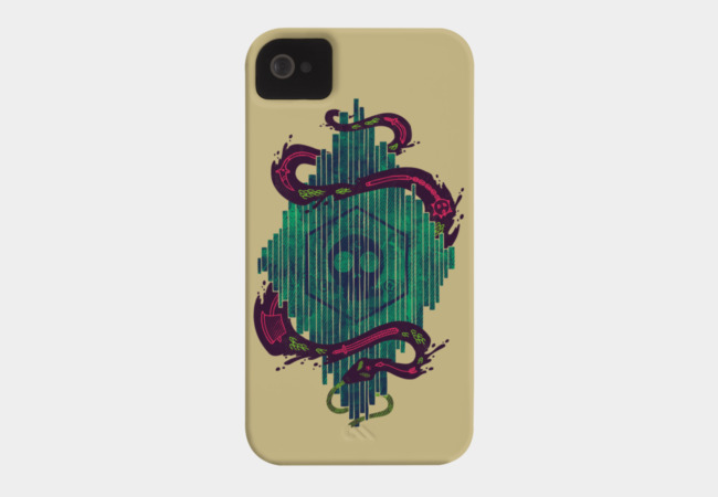 Death Crystal Phone Case - Design By Humans