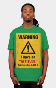 Warning Tee T-Shirt