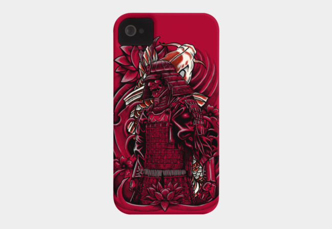 Samurai Koi Phone Case - Design By Humans